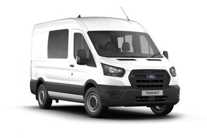 Ford Transit Crew Van 350 L2 RWD 2.0 EcoBlue RWD 130PS Trend Crew Van High Roof Manual [Start Stop] [DCiV]