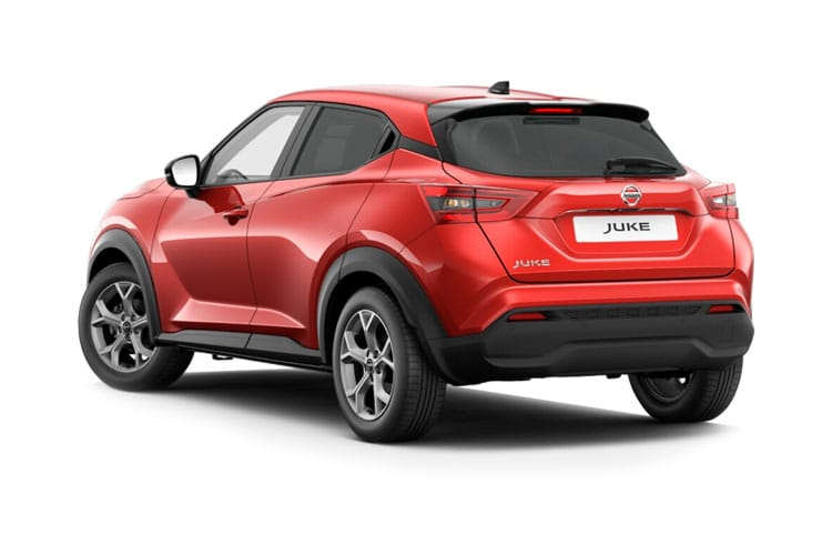 Nissan Juke SUV 1.0 DIG-T 114PS Acenta 5Dr DCT Auto [Start Stop] back view