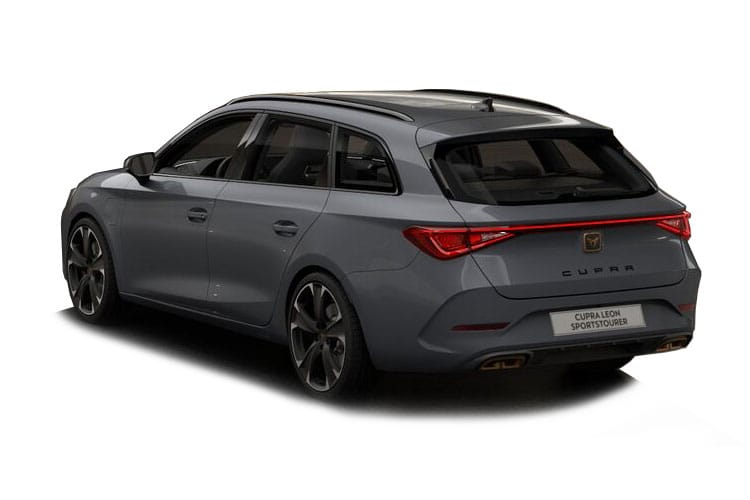 CUPRA Leon Estate 4Drive 2.0 TSI 310PS VZ3 5Dr DSG [Start Stop] back view