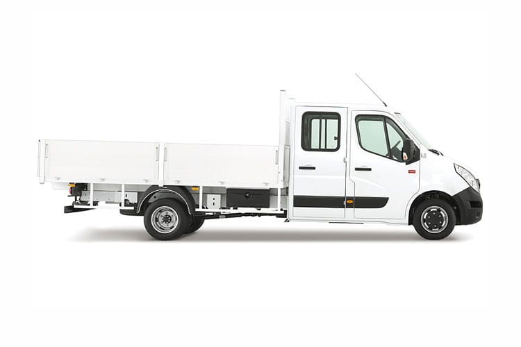 Renault Master MWB 35 RWD 2.3 dCi RWD 130PS Business Tipper Manual [Aluminium] back view