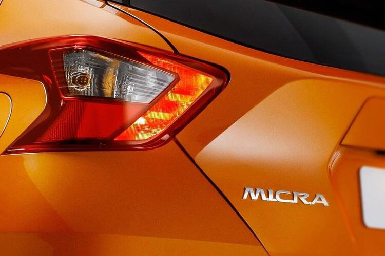 Nissan Micra Hatch 5Dr 1.0 IG-T 92PS N-Sport 5Dr Manual [Start Stop] detail view
