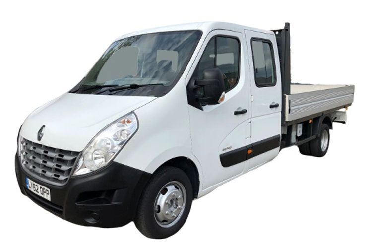 Renault Master LWB 35 RWD 2.3 dCi ENERGY RWD 145PS Business Dropside Double Cab Manual [Start Stop] front view