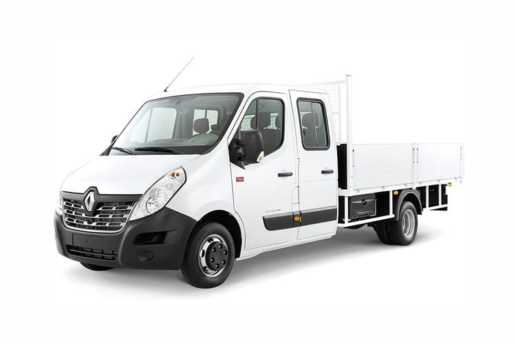 Renault Master LWB 35 RWD 2.3 dCi RWD 130PS Business Tipper Manual [Aluminium Tool Box] front view