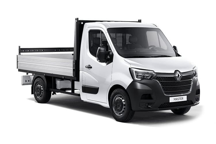 Renault Master LWB 35 RWD 2.3 dCi RWD 130PS Business Dropside Manual front view