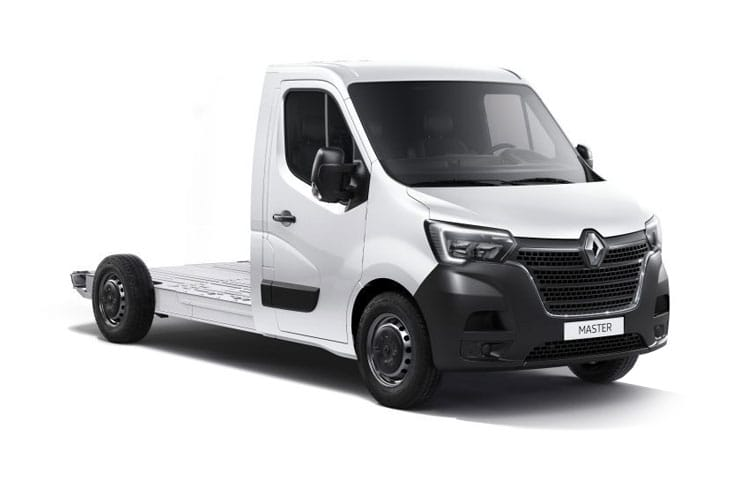 Renault Master LWB 35 FWD 2.3 dCi FWD 135PS Business Platform Cab Manual front view