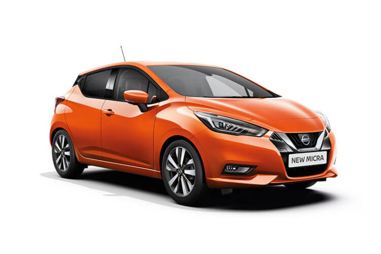 Nissan Micra Hatch 5Dr 1.0 IG-T 92PS N-Sport 5Dr Manual [Start Stop] front view