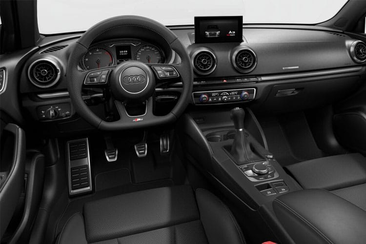 Audi A3 30 Saloon 4Dr 2.0 TDI 116PS Sport 4Dr S Tronic [Start Stop] inside view