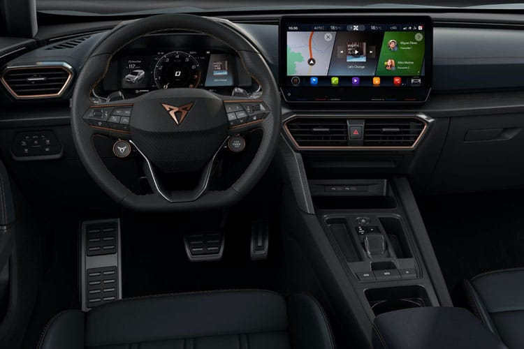 CUPRA Formentor SUV 4Drive 2.0 TSI 190PS V1 5Dr DSG [Start Stop] inside view