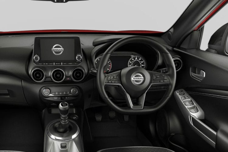 Nissan Juke SUV 1.0 DIG-T 114PS Tekna 5Dr Manual [Start Stop] inside view
