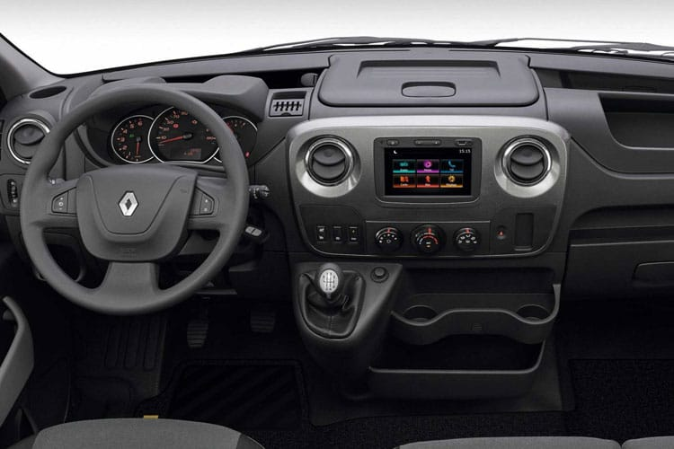 Renault Master LWB 35 RWD 2.3 dCi RWD 130PS Business Tipper Manual [Aluminium Tool Box] inside view