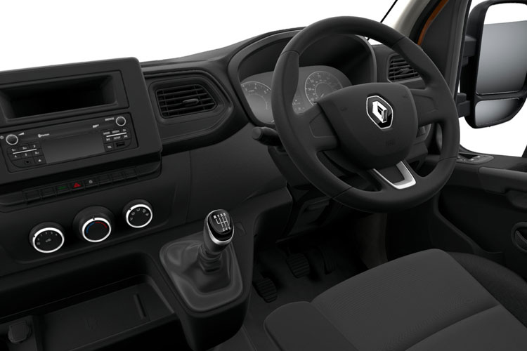Renault Master LWB 35 FWD 2.3 dCi FWD 135PS Business Platform Cab Manual inside view
