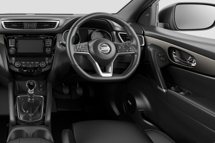 Nissan Qashqai SUV 2wd 1.3 DIG-T 160PS N-Connecta 5Dr DCT Auto [Start Stop] inside view