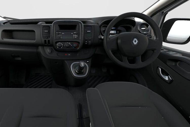 Renault Trafic 30 LWB 2.0 dCi ENERGY FWD 170PS Black Edition Crew Van EDC [Start Stop] inside view